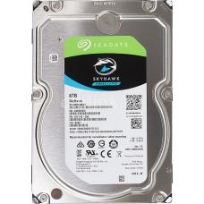 "Жесткий диск SEAGATE Skyhawk ST6000VX0023, 6Тб, HDD, SATA III, 3.5"""