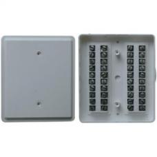 КРТП 10х2 коробка телефонная распределительная плоская