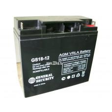 Аккумулятор 12В 17А/ч